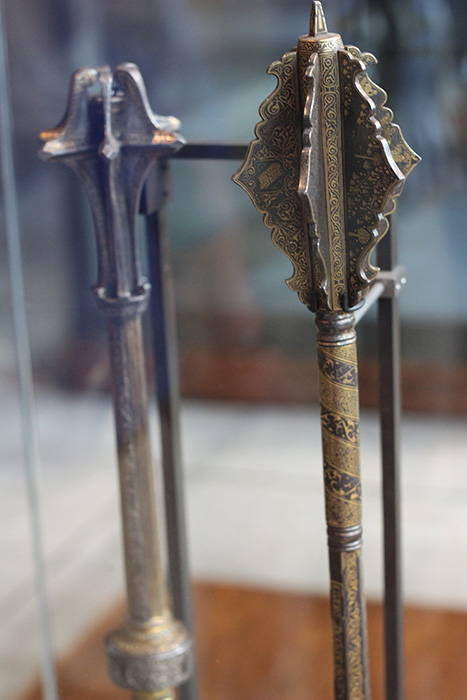 Intricately designed mace