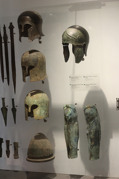 The Bronze-Age is well represented