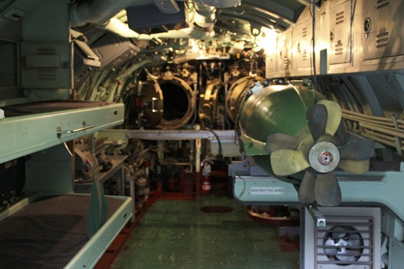 Okay, Sailer, you'll be sleeping in the Torpedo Room