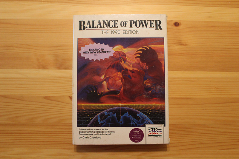 Balance Of Power: The 1990 Edition, by Chris Crawford and Mindscape - 1989