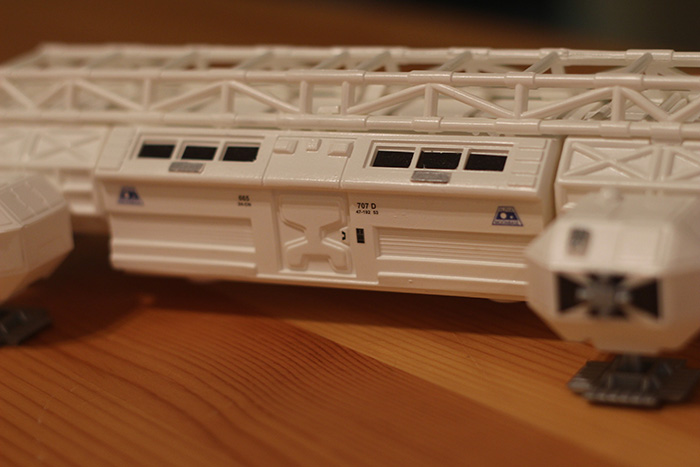 The decals MPC includes with this kit allow for a high level of detail.