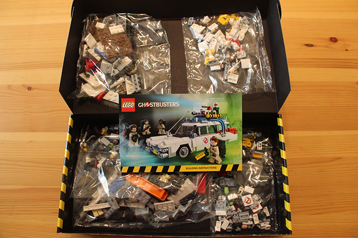 Lego Ghostbusters, inside the box
