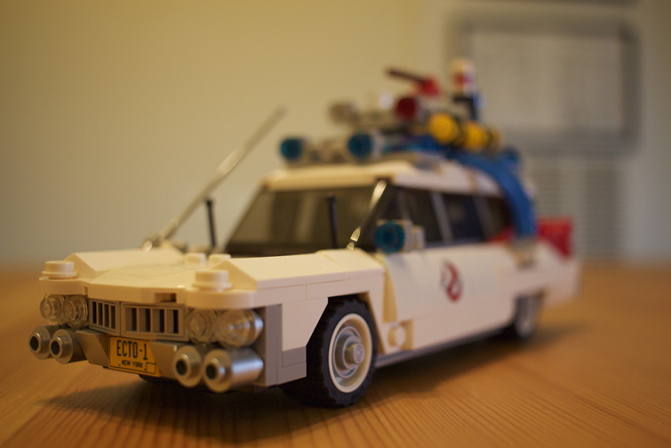 Left-front of the ECTO-1.