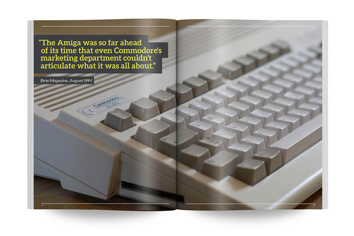 Commodore Amiga - a visual compendium, by Sam Dyer