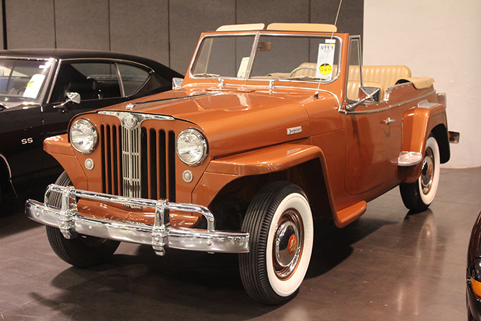 1949 Willys Jeepster, 3-speed.