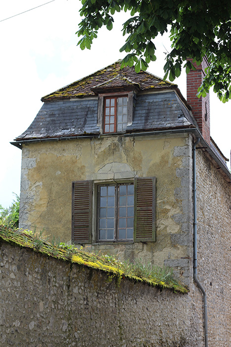 A tiny (by today's standards) and very old home in Provins.