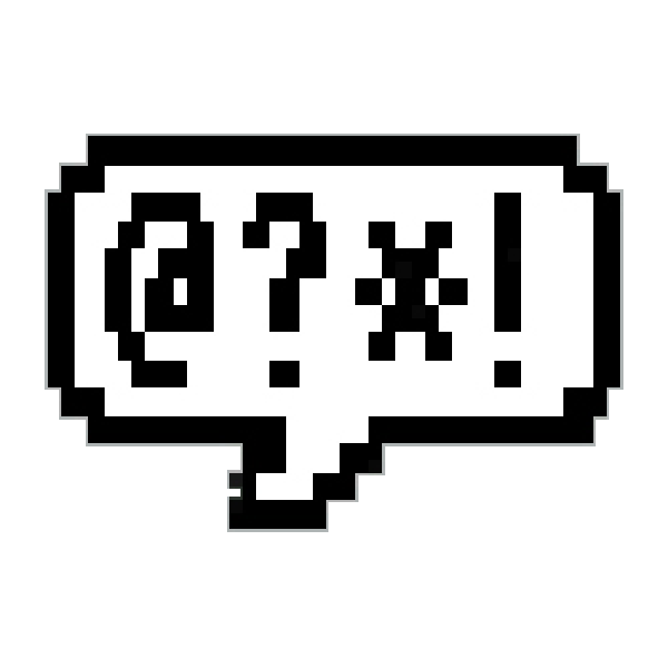 "The classic icon for the Amiga ""Say"", speech-synthsis program."