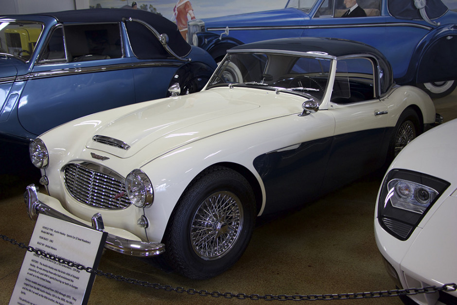 The 1962 Austin-Healey Sports Car.