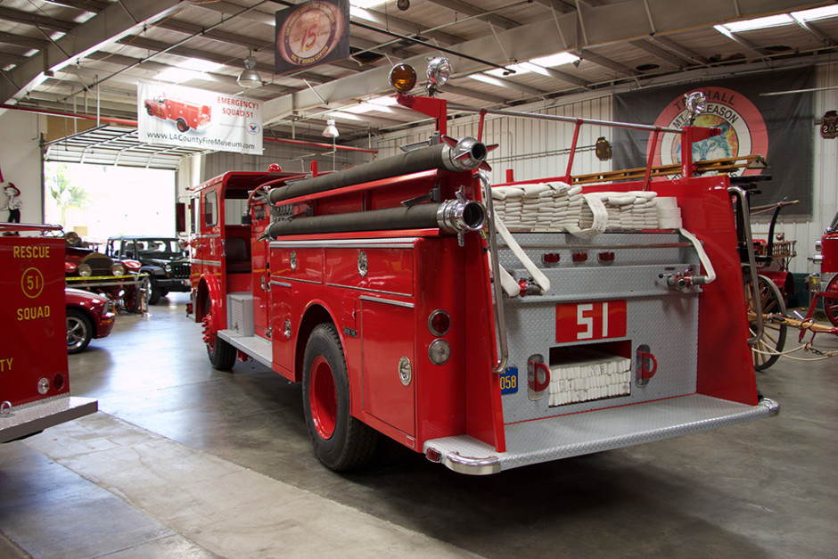 Engine 51, rear/left view.
